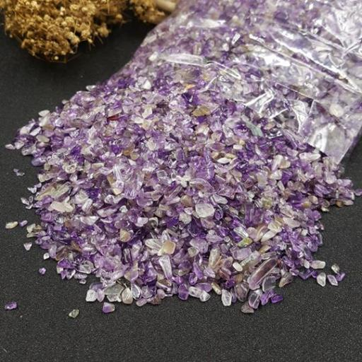 紫水晶碎石