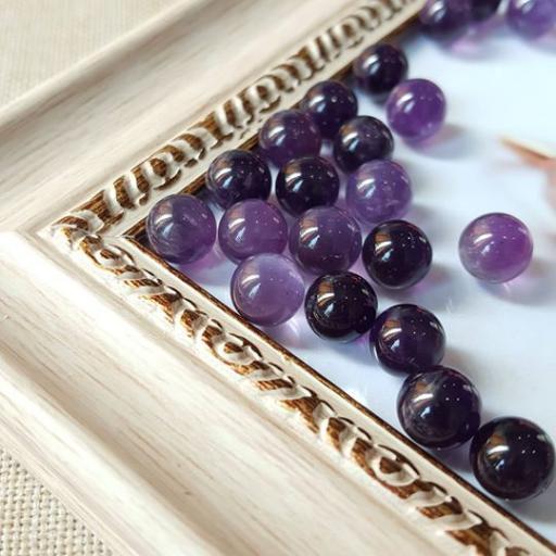 8mm 紫水晶球