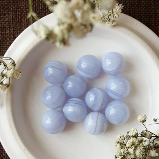 10mm 蓝纹玛瑙球