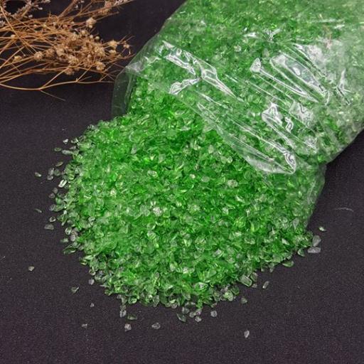 绿琉璃碎石