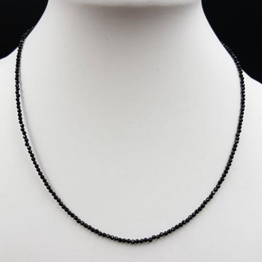 黑玛瑙切面项链