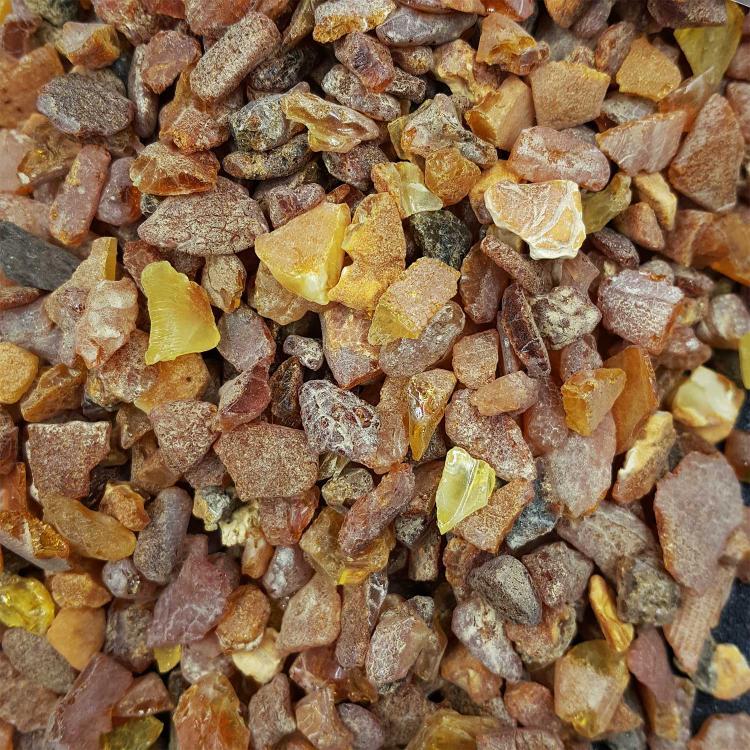 琥珀蜜蜡碎石