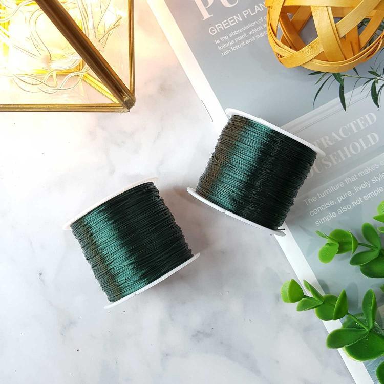 深绿水晶绳子