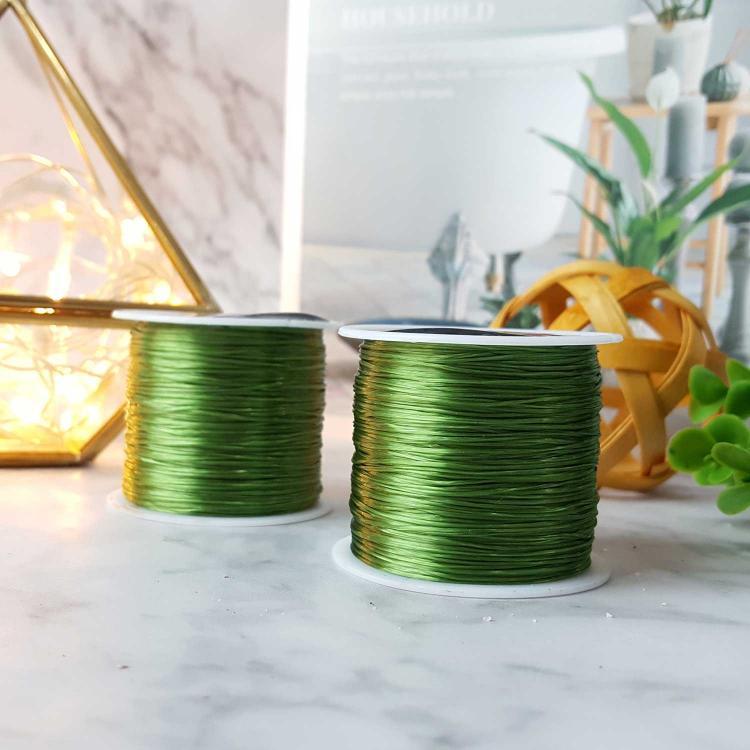 浅绿水晶绳子