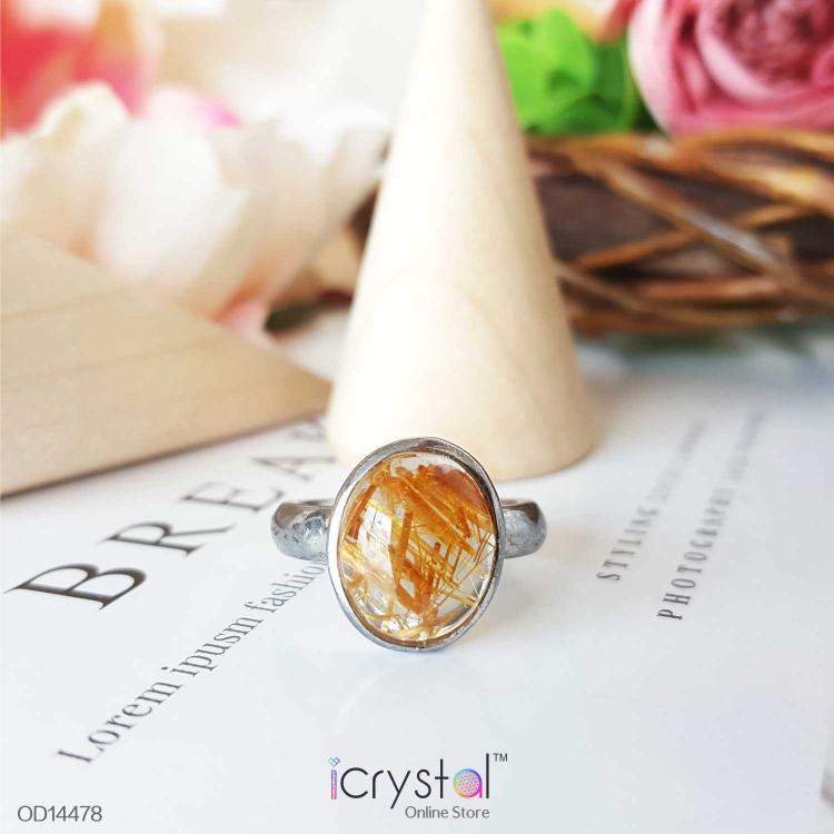 钛晶 / 发晶戒指