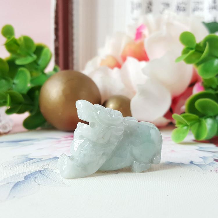 玉石3D貔貅配件