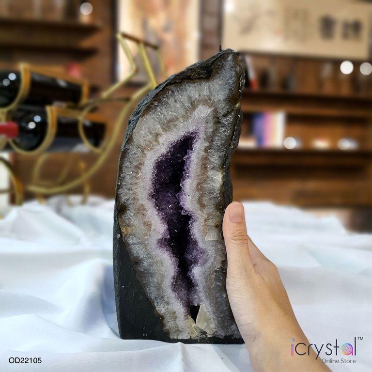紫水晶洞摆件
