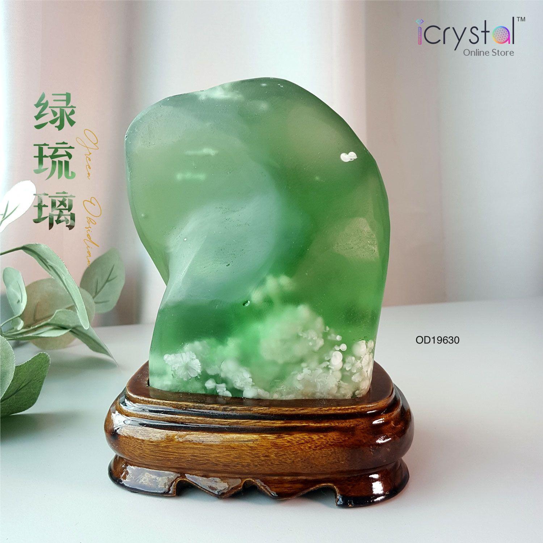 绿琉璃原矿