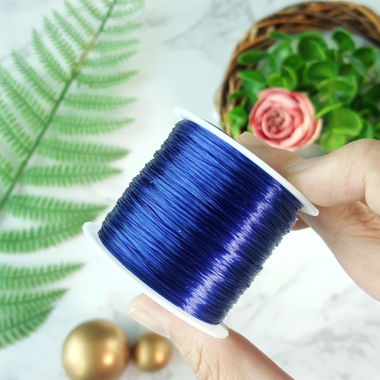 水晶深蓝绳子