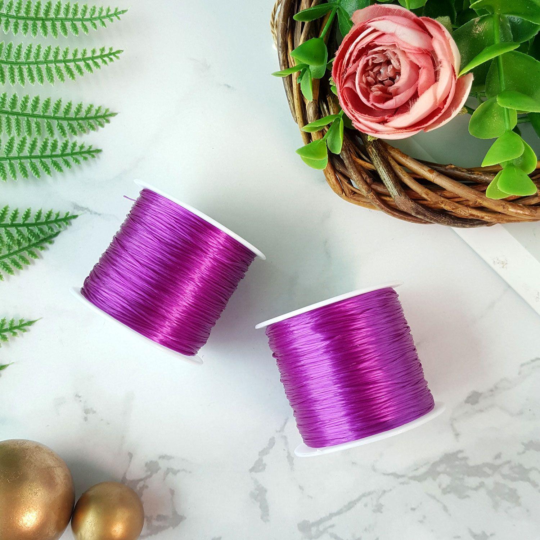 水晶深紫绳子