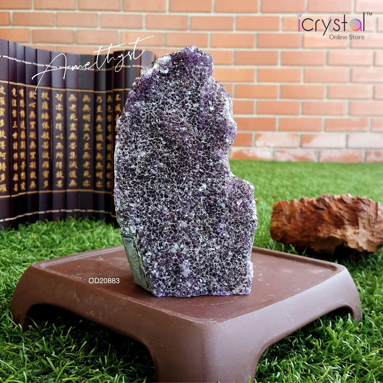 紫水晶摆件