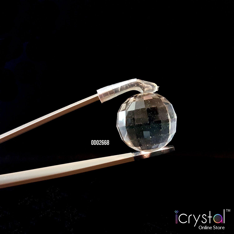18mm 白水晶切面球