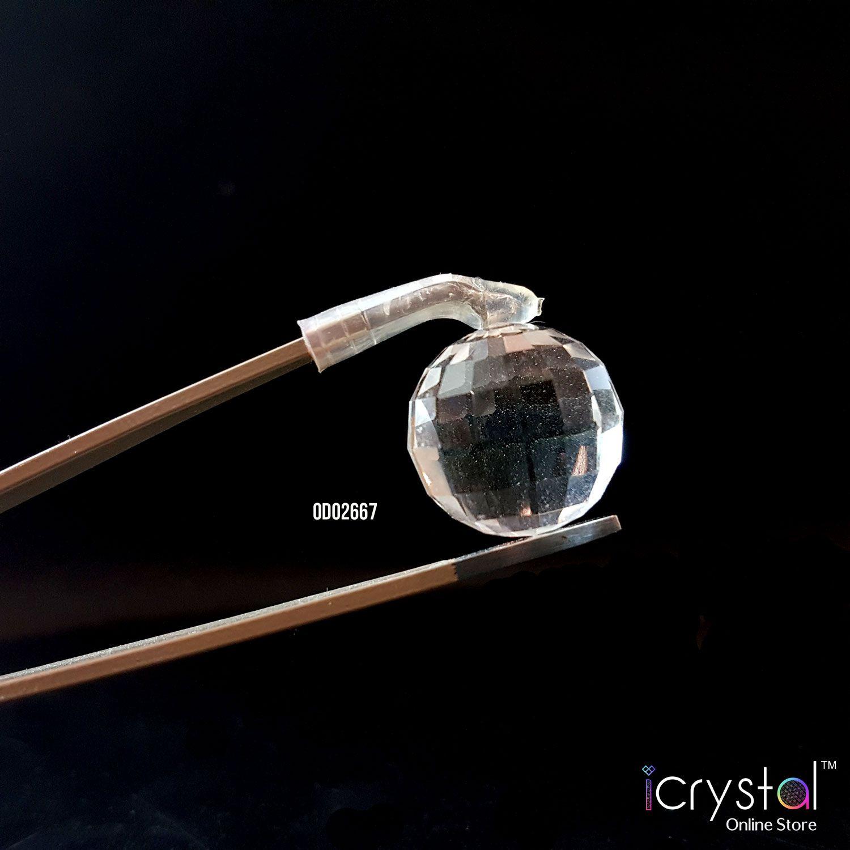 16mm 白水晶切面球