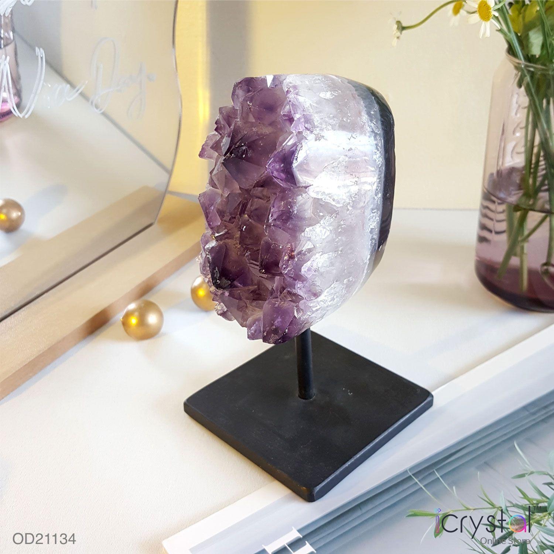 巴西异象水晶摆件