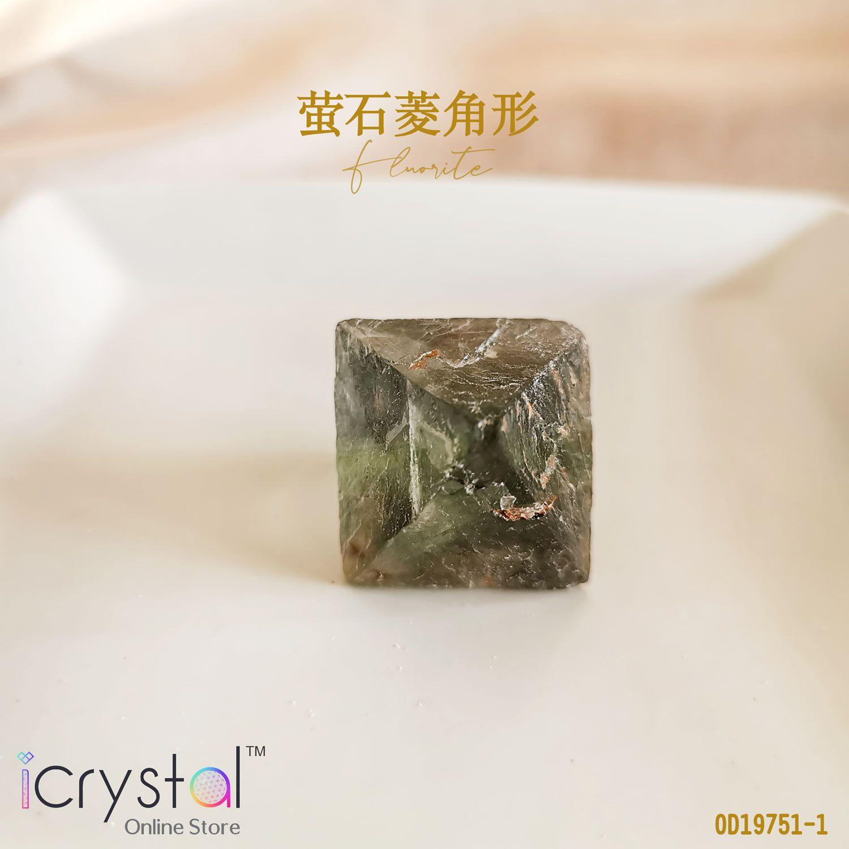 菱角形萤石原矿