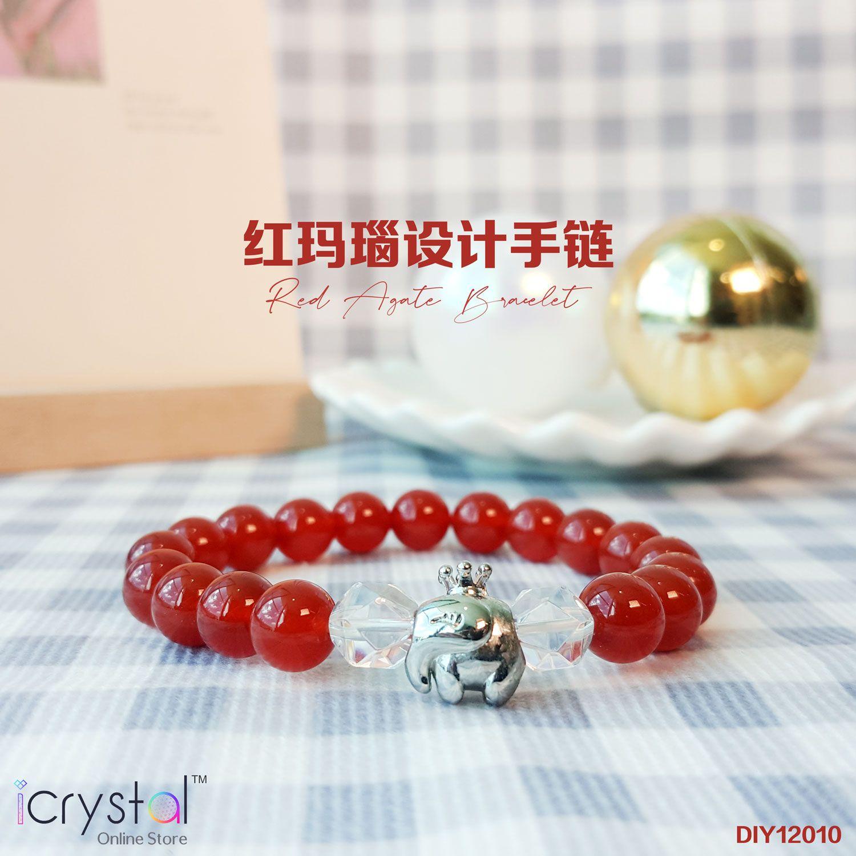 红玛瑙设计手链
